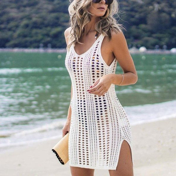 Knitwear-Cotton-Beach-Cover-Up