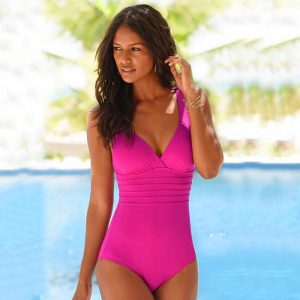 Pink-One-Piece-Swim