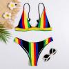 Rainbow Swimwear Bikini Set (Cloth)