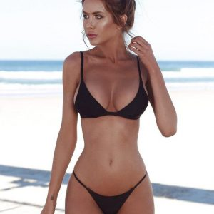 Triange Bikini Set - Black