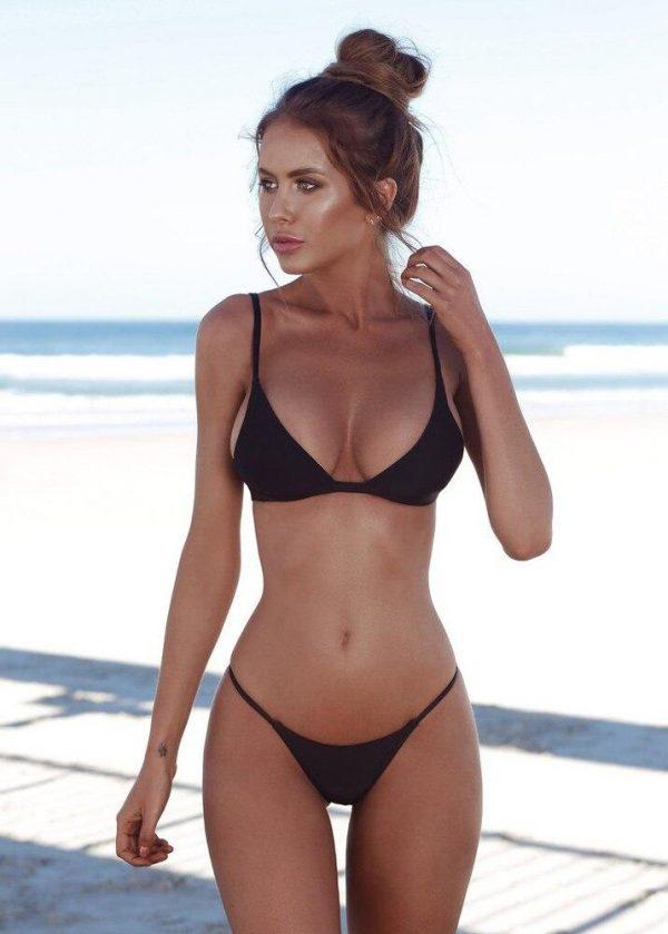 Triange Bikini Set - Black